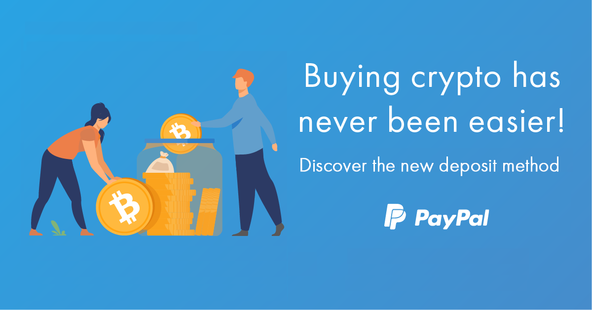 Deposit funds and purchase cryptocurrency on bitFlyer using your PayPal account!
