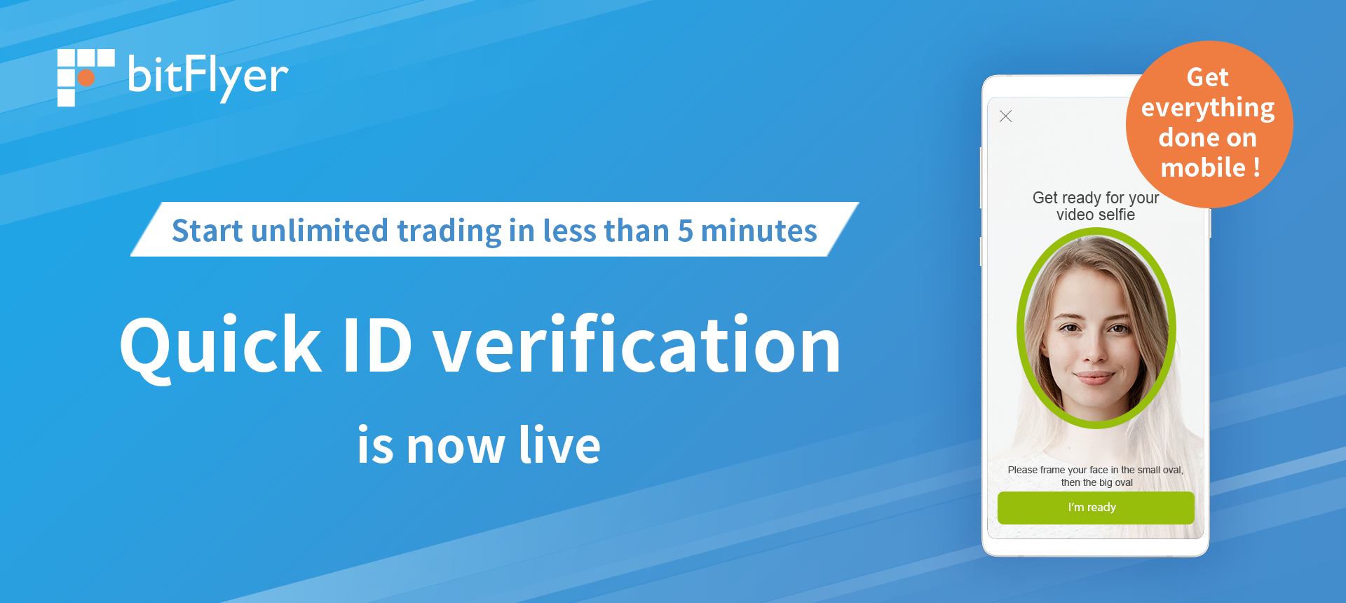 """Start trading immediately with """"Quick ID verification"""""""