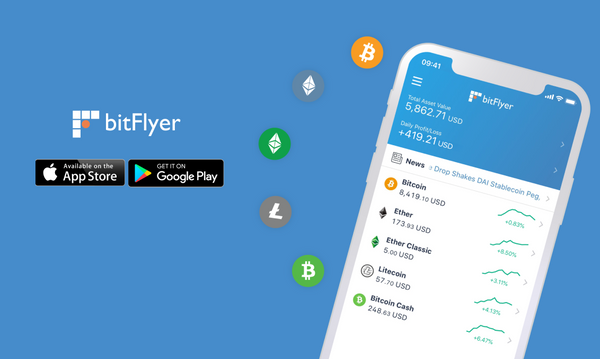 The bitFlyer iOS and Android Apps are now available!